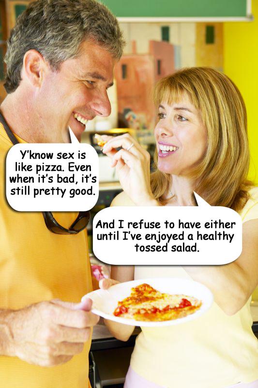 Sex is like mcdonalds